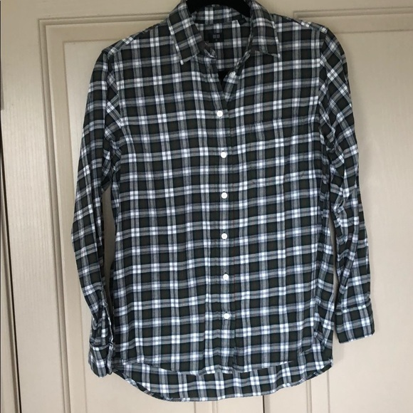 3927f2e1 Uniqlo Tops | Flannel Plaid Button Down Shirt Sz Xs | Poshmark